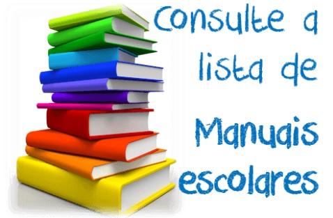 Lista de Manuais escolares adotados para o ano letivo 2020-2021
