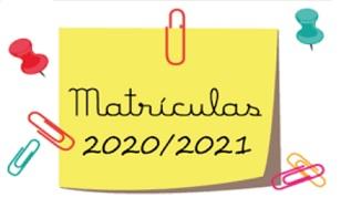 Matriculas 2020/2021